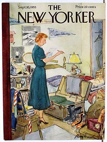 THE NEW YORKER Movie Vintage Poster Film Retro Art Print Home Decor