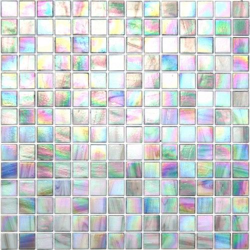 Kaleidoscope Colorglitz Iridescent Glass Mosaic Cg1851