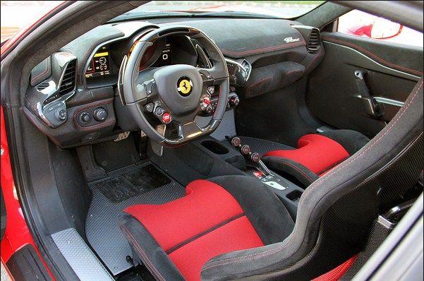 Ferrari 458 Interior With Images Ferrari 458 Speciale Ferrari