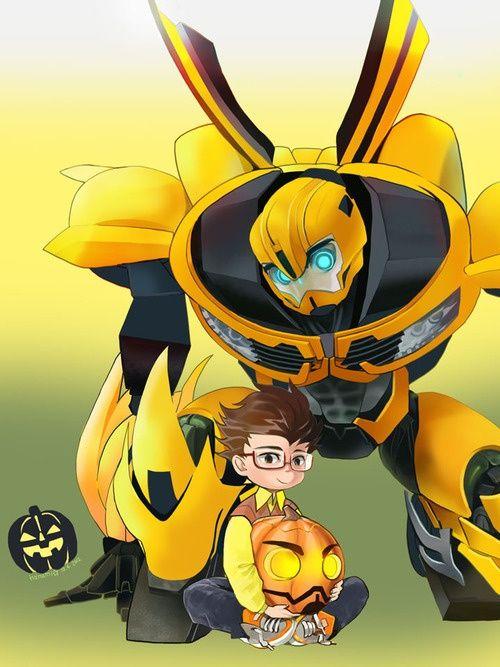 Bee & Raf | Bumblebee | Transformers, Transformers prime