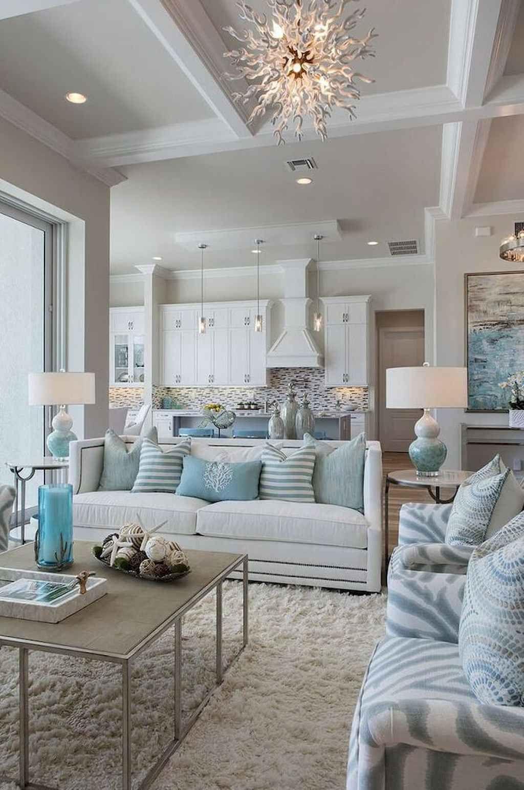 Rustic modern farmhouse living room decor ideas (12 | Farm ...
