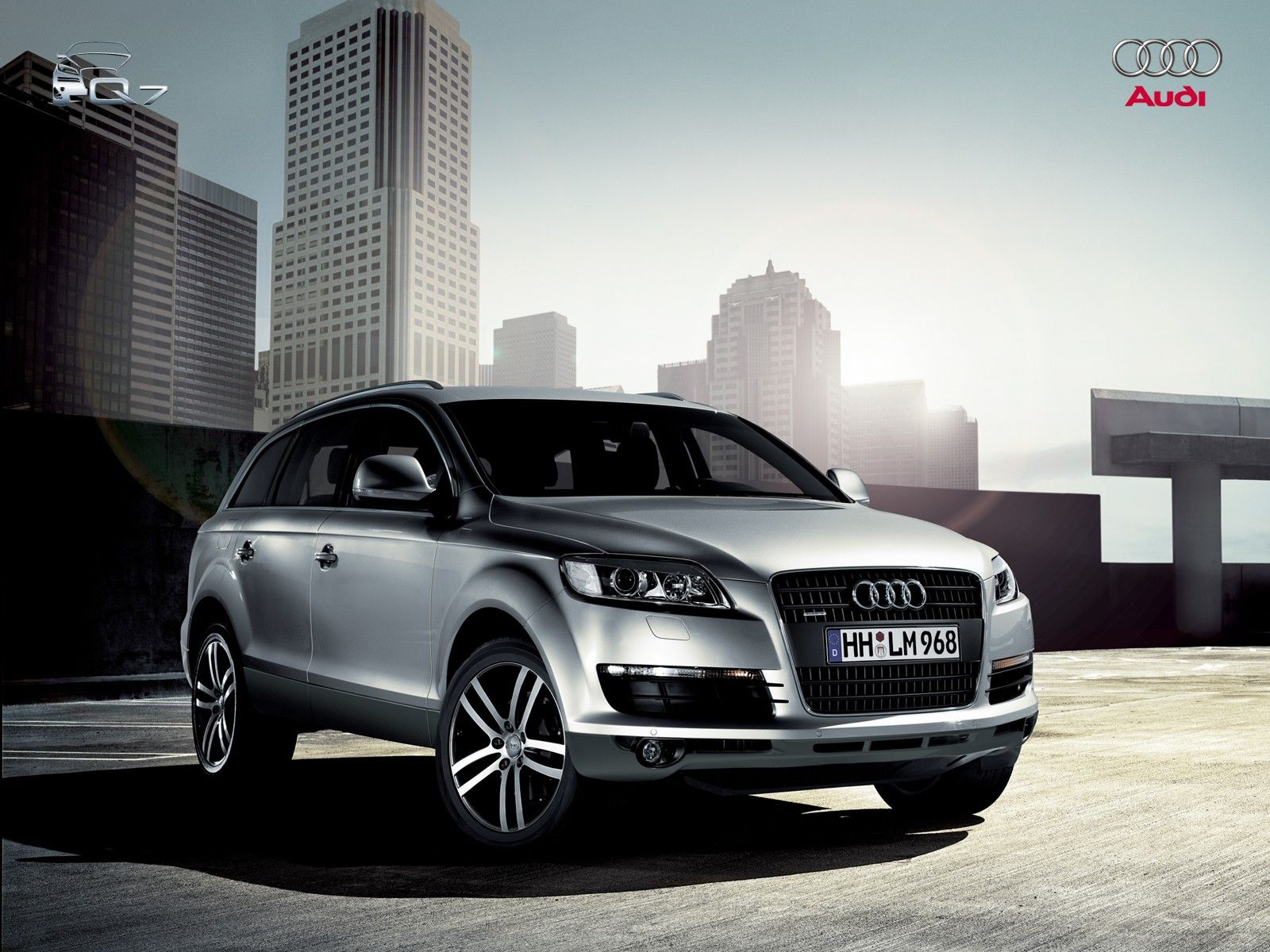 Car Wallpapers Hd Audi Q7 Silver Audi Pinterest Audi Q7 Audi