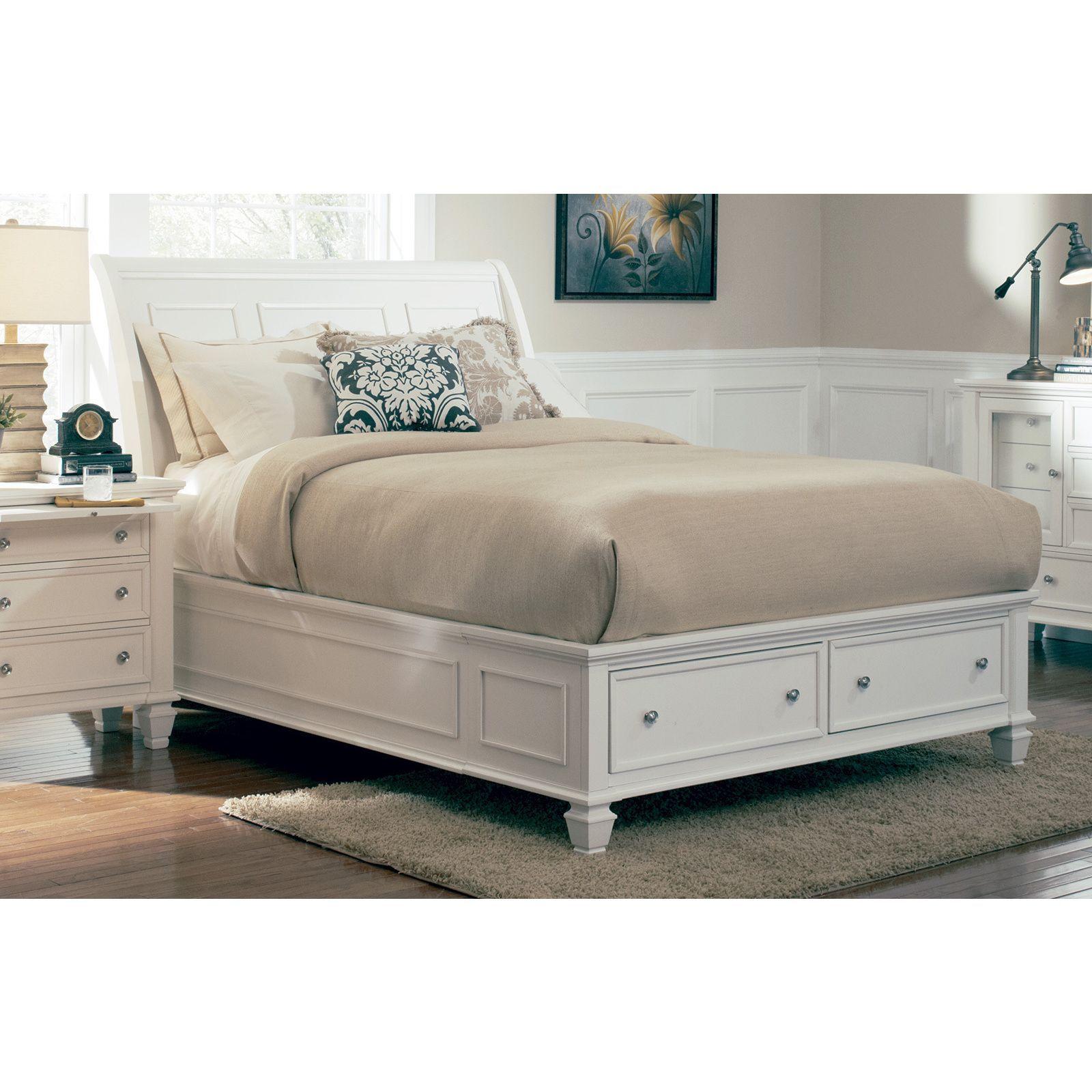 Coaster Company White Panel Bed (California King) White