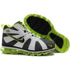 Nike Air Griffey Fury Mens Basketball Grey White Green Shoes