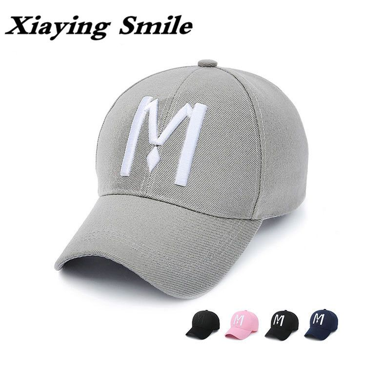 Xiaying Smile Snapback Adjustable Men Woman Baseball Cap Hip Hop Hat Casual Snap  Back Fashion Letter ad3e3546071a