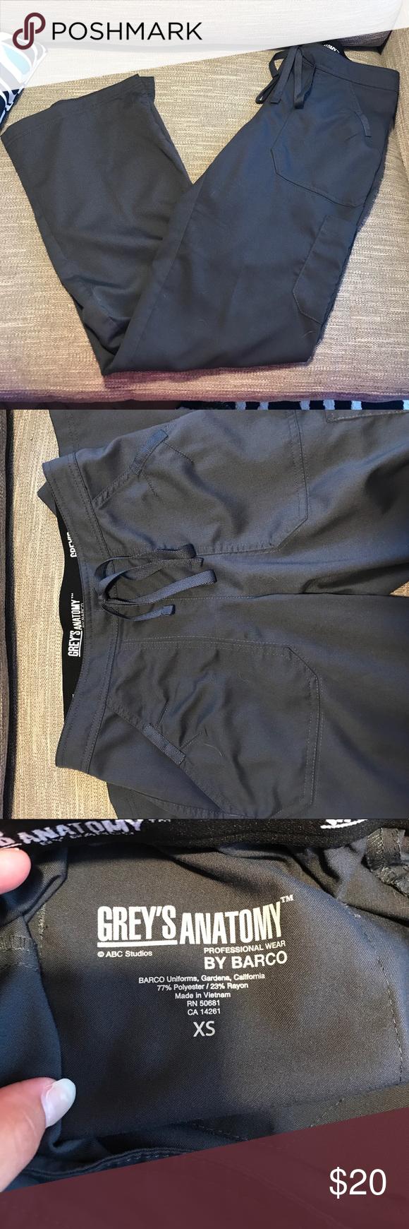 8cc1a4480c7dc Grey's Anatomy Steel Gray Pants (3 left in stock) Grey's Anatomy ...