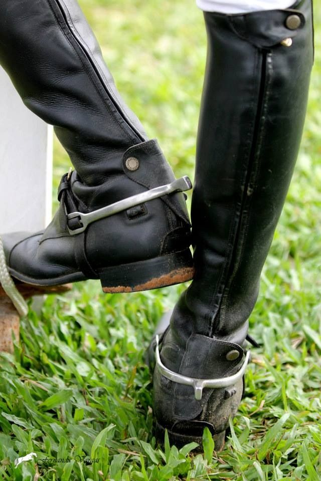 Muddy Riding Boots With Spurs Riding And Equestrian Fashion