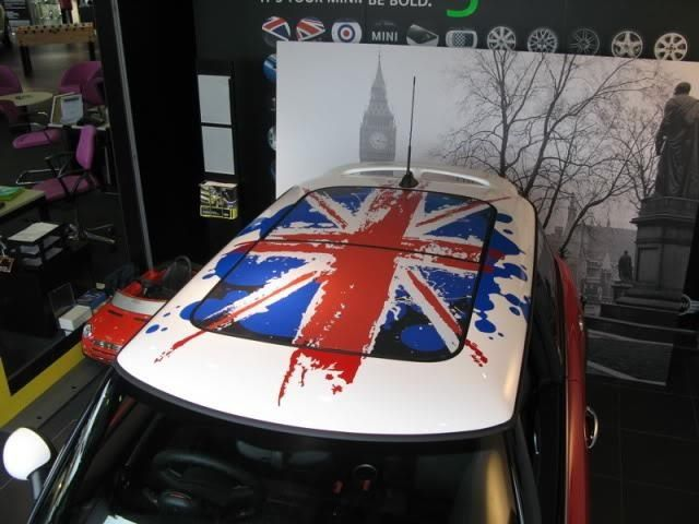 I Want This Roof For My Mini Cooper I Cant Find The Roof Graphic - Bmw mini roof decals