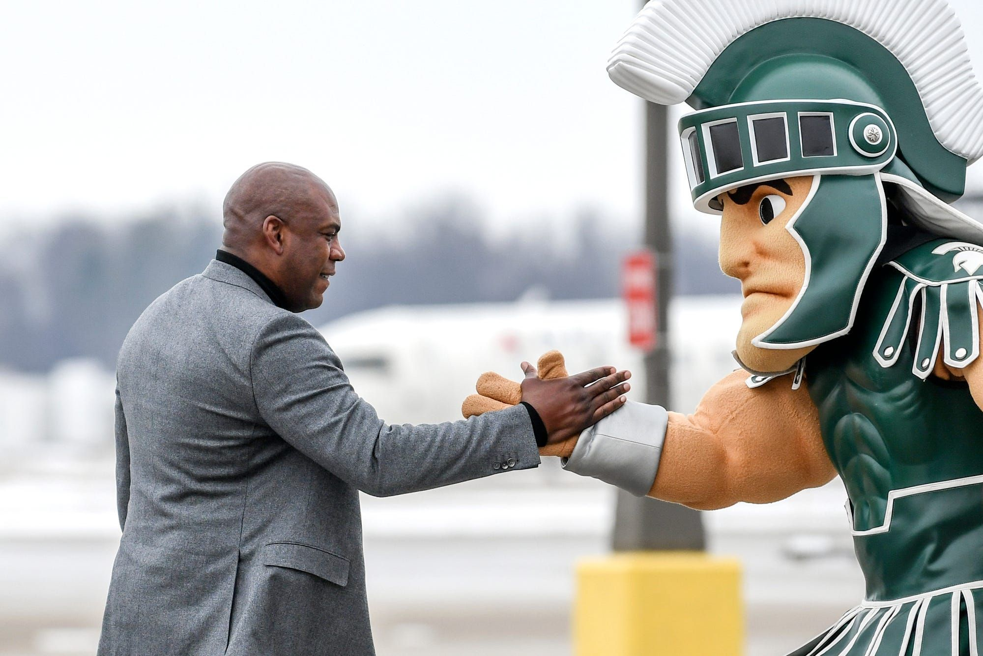 A Lot Of Upside In Mel Tucker Ex Detroit Lions Weigh In On New Michigan State Coach In 2020 Michigan State Football Michigan Sports Michigan State