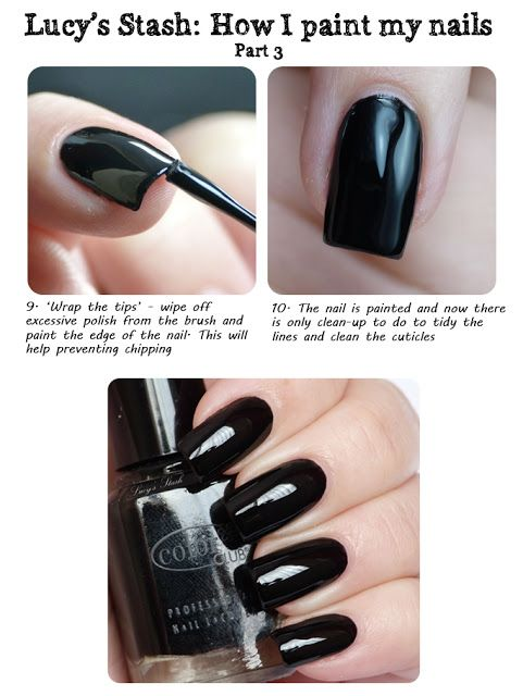 Picture and video tutorial: How I paint my nails | Nails | Pinterest ...
