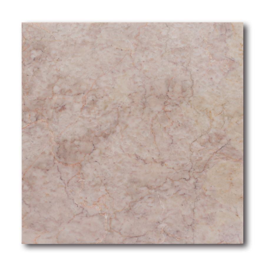 Allen Roth 10 Pack Pink Natural Stone Marble Floor Tile Common