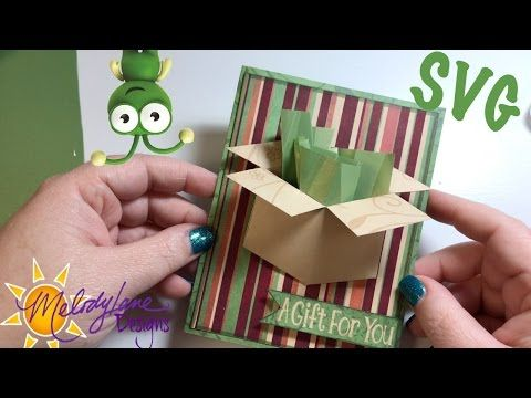 Youtube Gift Card Holder Template Free Gift Card Holder Card Box