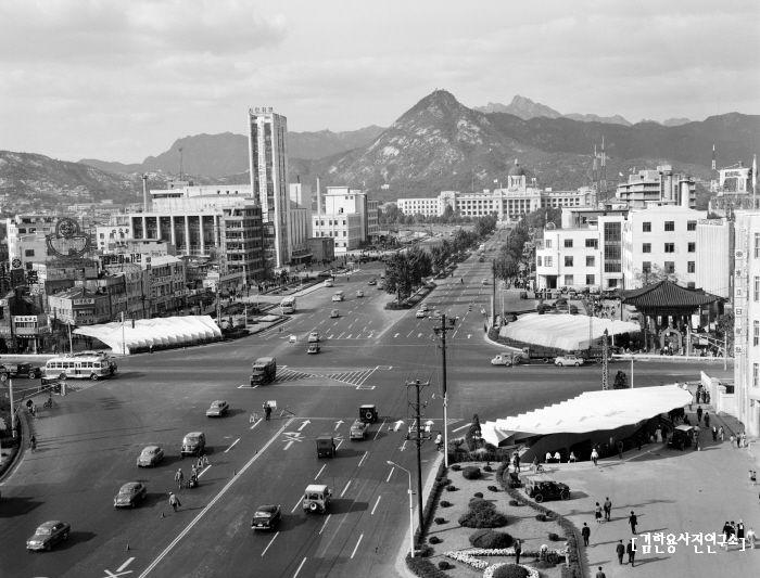 Seoul: Sejong-ro, 1965