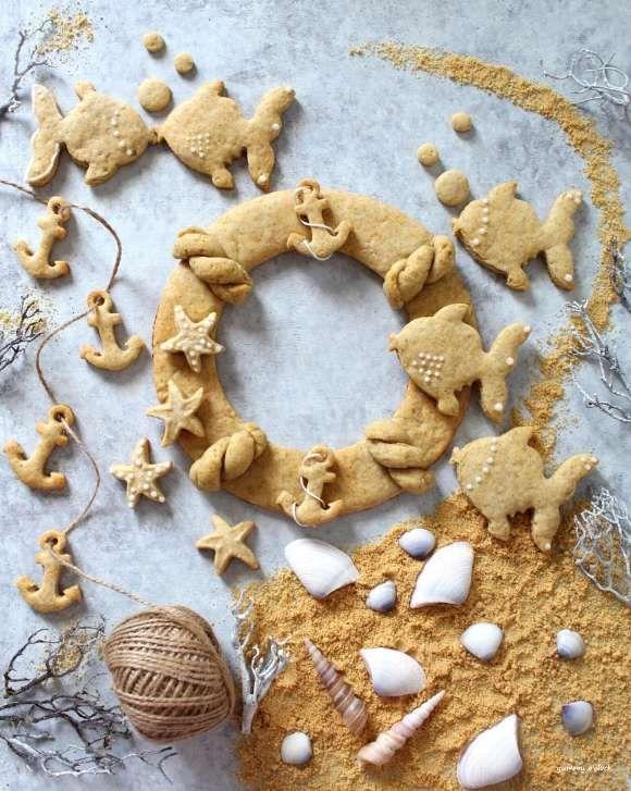 Photo of Ghirlanda di biscotti estiva senza lattosio senza uova senza burro – yummyo'clock