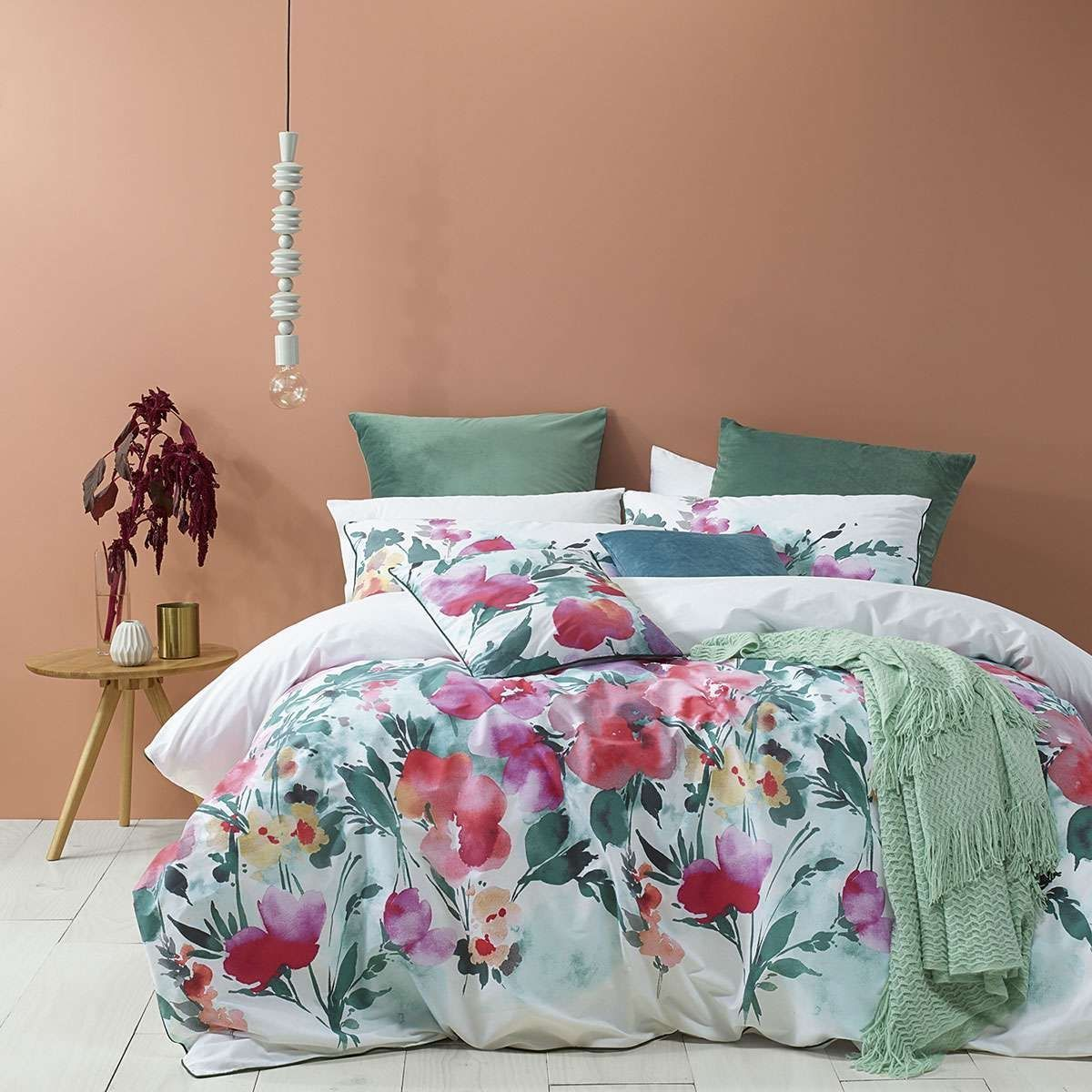 Indra Quilt Cover Set Pink By Bianca Quilt Cover Sets Quilt Cover Quilted Duvet Cover