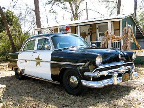 Mobile Alabama 1954 Ford Police Car Old Police Cars Police