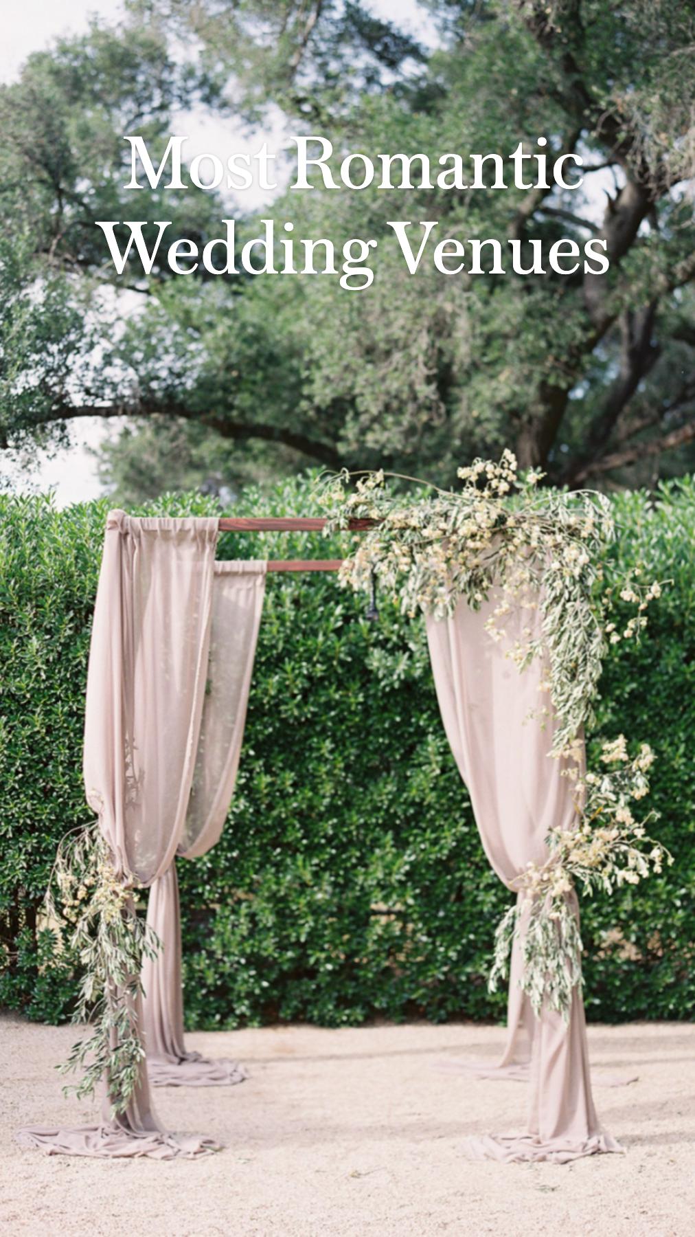 Most Romantic Wedding Venues