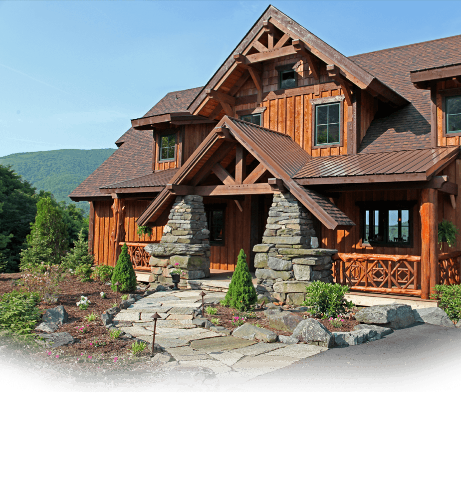 Log Cabin Designs Fryeburg Maine: Log Cabin House Plans