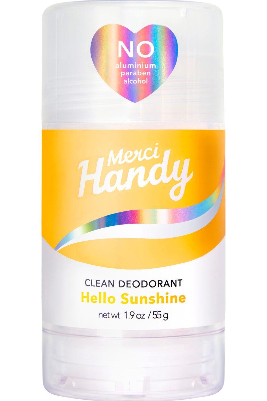Deodorant Clean Hello Sunshine Merci Handy Deodorant Boites