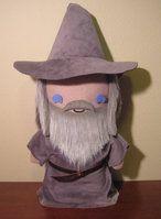 LoTR gandalf the grey plush, chibi style! by viciouspretty