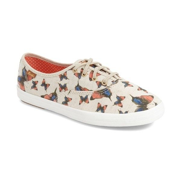 7170dcdc18a Keds  Champion  Print Sneaker ( 55) ❤ liked on Polyvore featuring ...