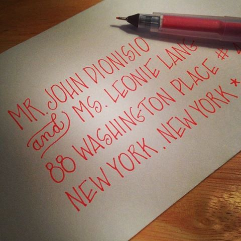 Custom Envelope Calligraphy in 'Lindsay' by Calligraphesque on Etsy, $1.50
