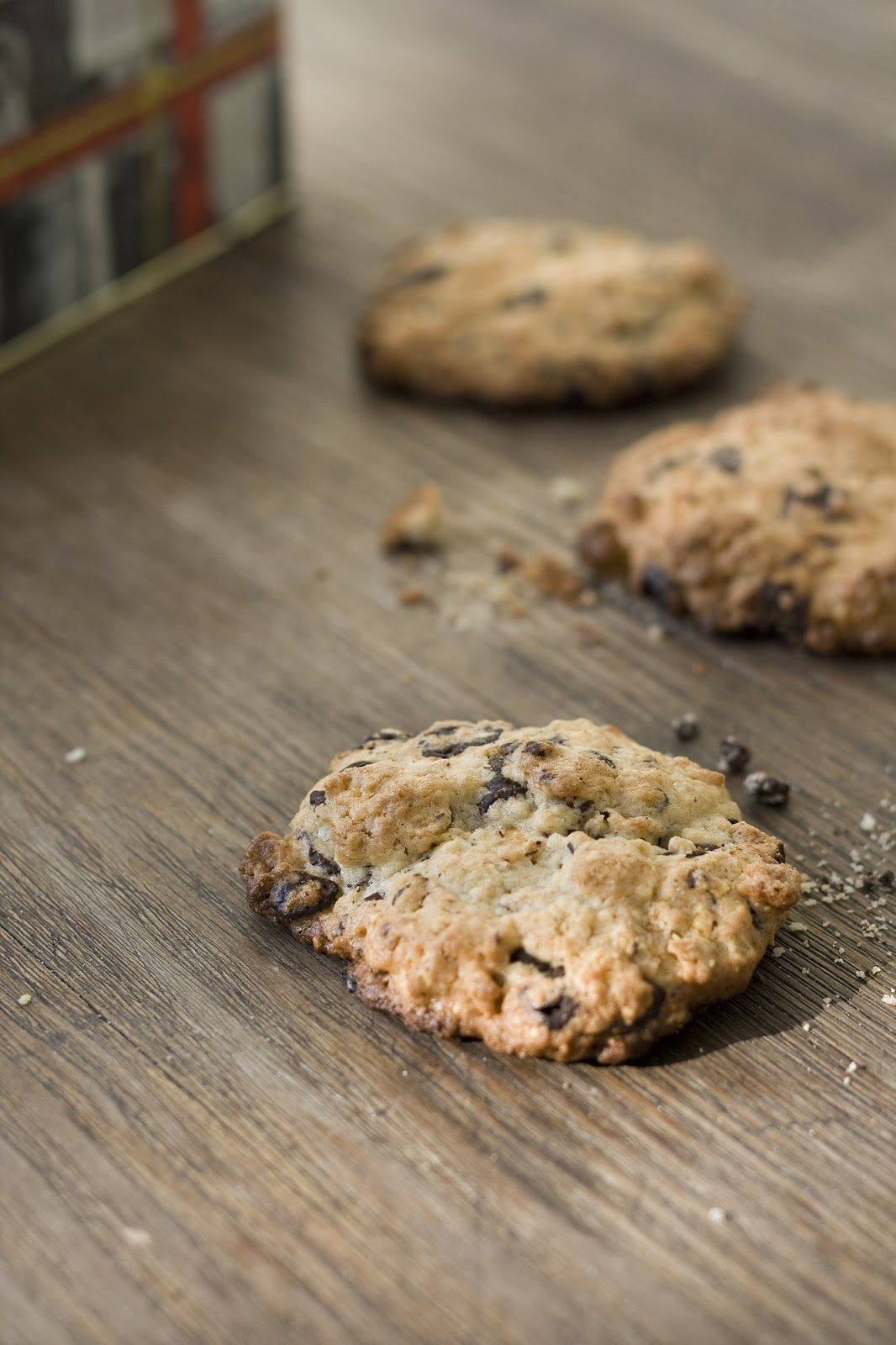 Chocolate Tahini Cookies | feines gemüse