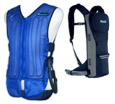 Cooling Vest Backpack Complete Personal Cooling System
