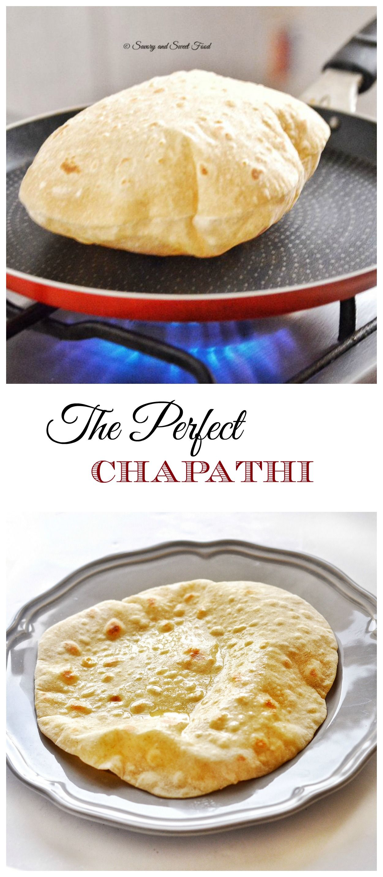 The Perfect Chapathi Recipe #indianfood