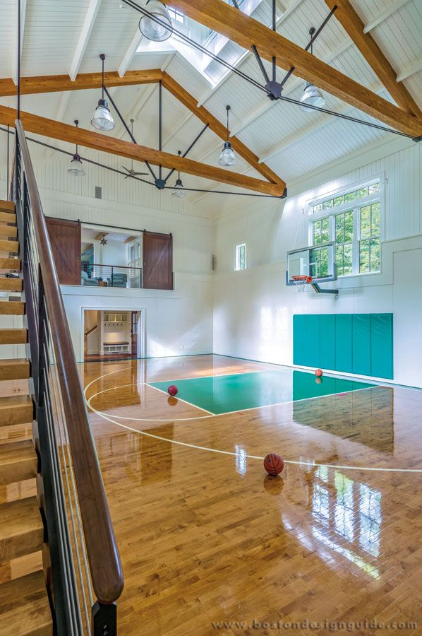 Bdg S Amazing Spaces Places Indoor Full Sized Basketball Court Architecture By Mga Marcus G Home Basketball Court Basketball Room Indoor Basketball Court