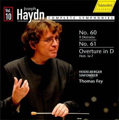 Heidelberg Symphony Orchestra - Haydn: Complete Symphonies Vol 10