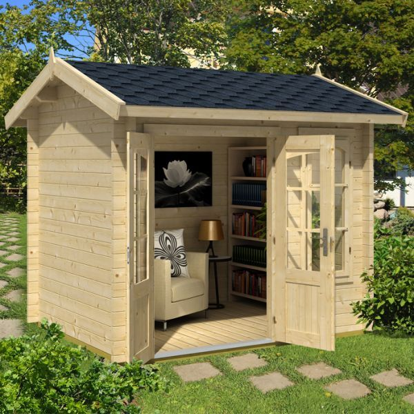 Alex Mini Log Cabin Kits, Garden Cabin, Garden Office, Log Cabins For Sale,  UK
