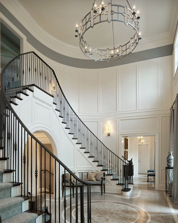 "51 Stunning Staircase Design Ideas: ""Breathtaking Foyer By Michael Matrka Inc 💭💭💭"""