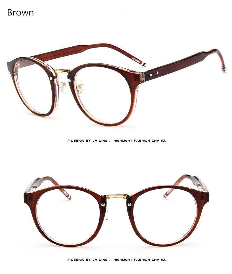 768a8996ed Brand Female Grade Glasses Frame Women Myopia Eye Glasses Frame Men Optical  Glasses Vintage Round Eyeglasses Frame For Eyewear That`s just superb!