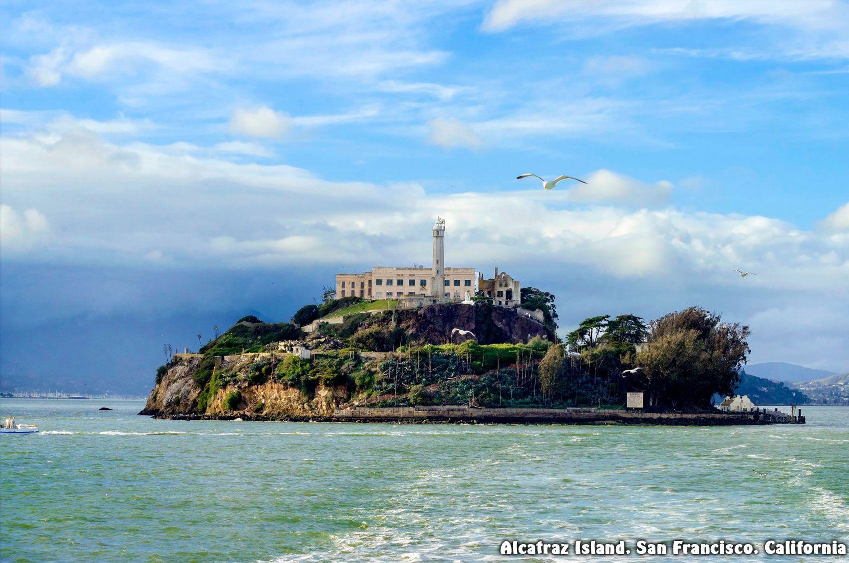 Alcatraz Island San Francisco California This Foreboding