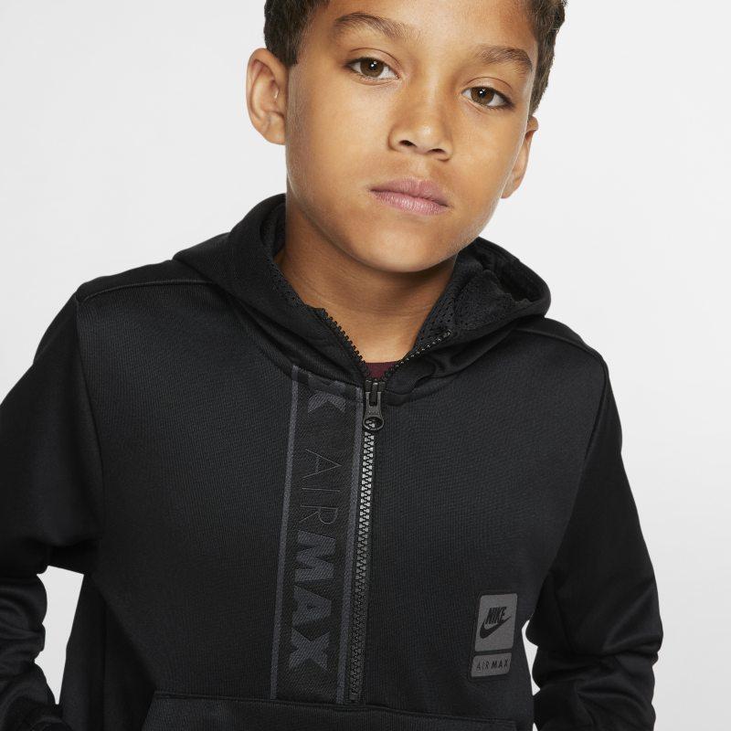 Air Max Older Kids' Half Zip Hoodie | Black hoodie, Nike air
