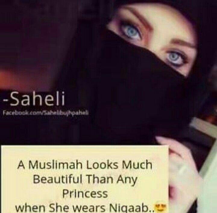 Ah ! Marvellous Hijab Quotes, Muslim Quotes, Muslim Girls, Muslim Women,  Islamic