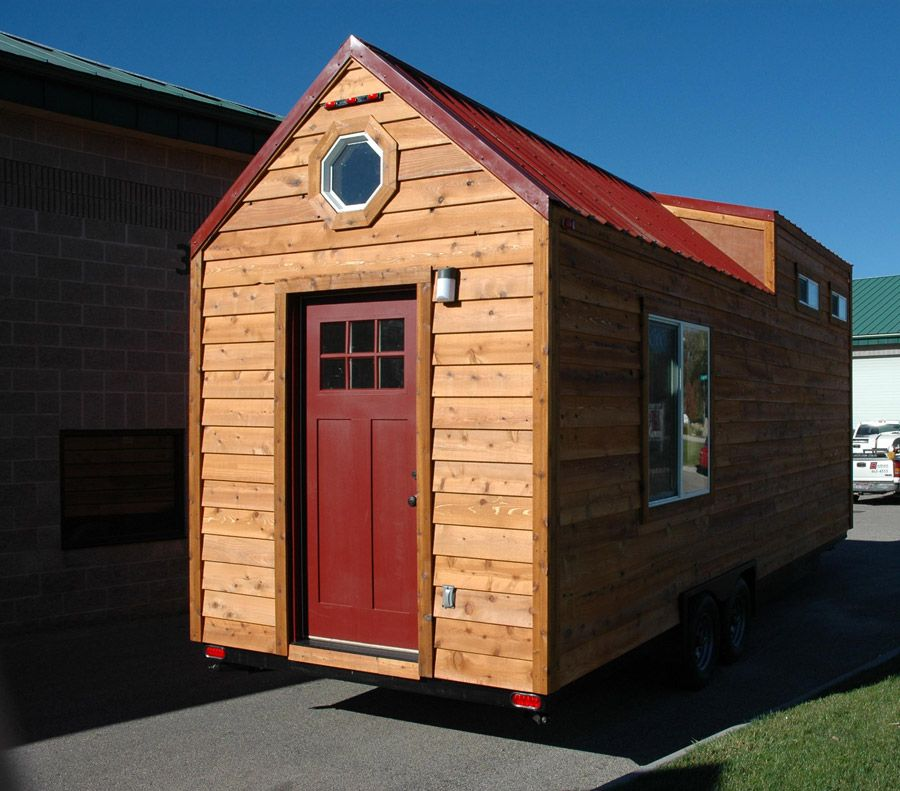 A 280 Square Feet Tiny House Mounted To A 26 Trailer In
