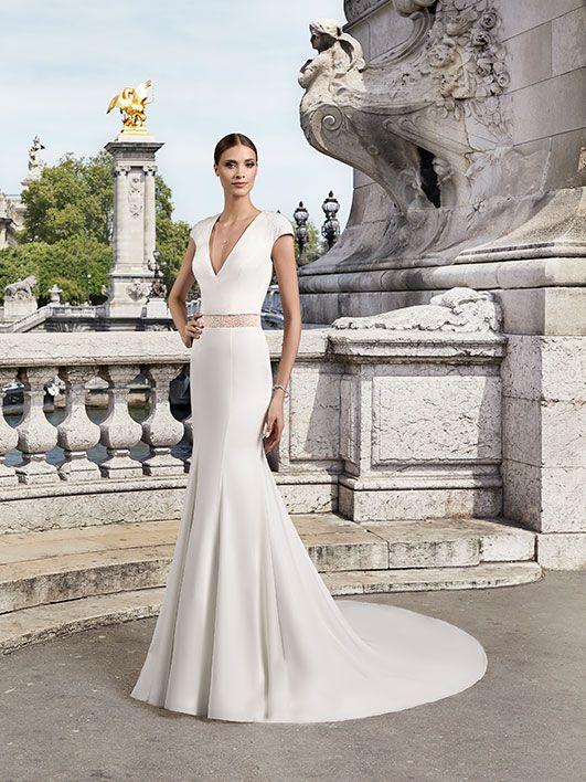 Pronuptia collection 2018, robe de mariée, robe de mariée bohème chic, robe de mariée dentelle - Pronuptia