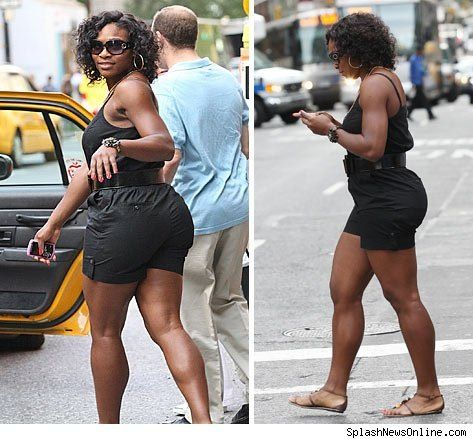 Fat Serena Williams