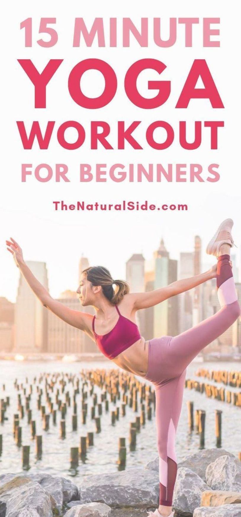 Looking to start yoga practice in the morning. Here is a 15 Minute Home Yoga Workout that is great y...