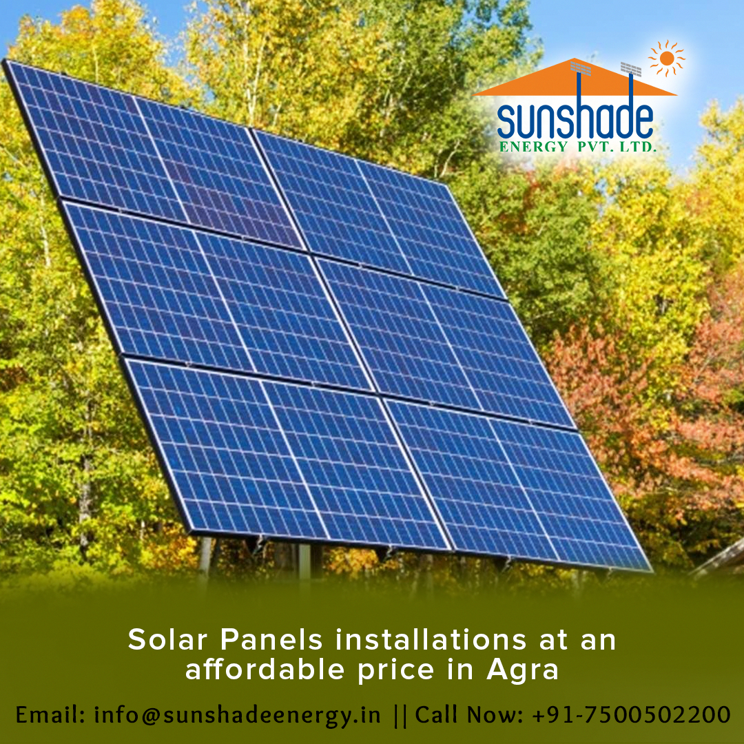 Solar Panel Installation At An Affordable Price In Agra In 2020 Solar Panel Installation Solar Panels Solar