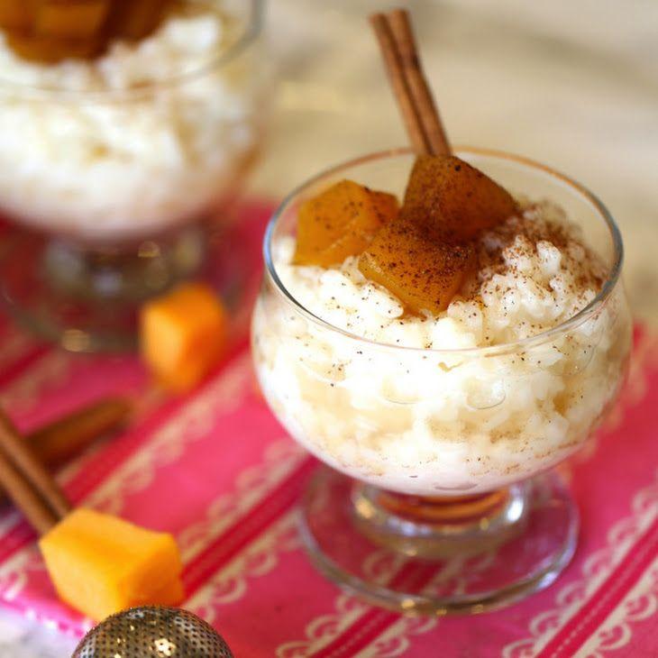 Pumpkin Rice Pudding | Recipe | Pudding, Pumpkin rice ...