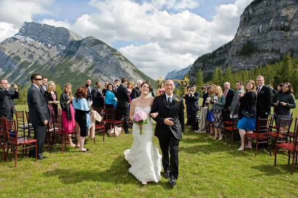 Three Jaw Dropping Indoor Banff Wedding Ceremonies: Buffalo Mountain Lodge Wedding By Orange Girl Photographs