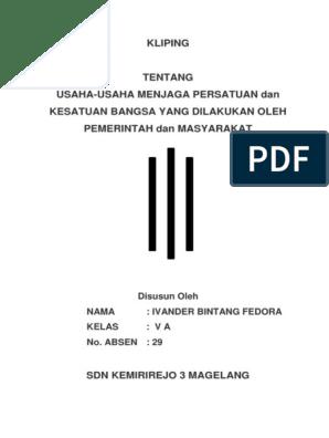 Dinamika Persatuan Dan Kesatuan Bangsa : dinamika, persatuan, kesatuan, bangsa, Indonesia