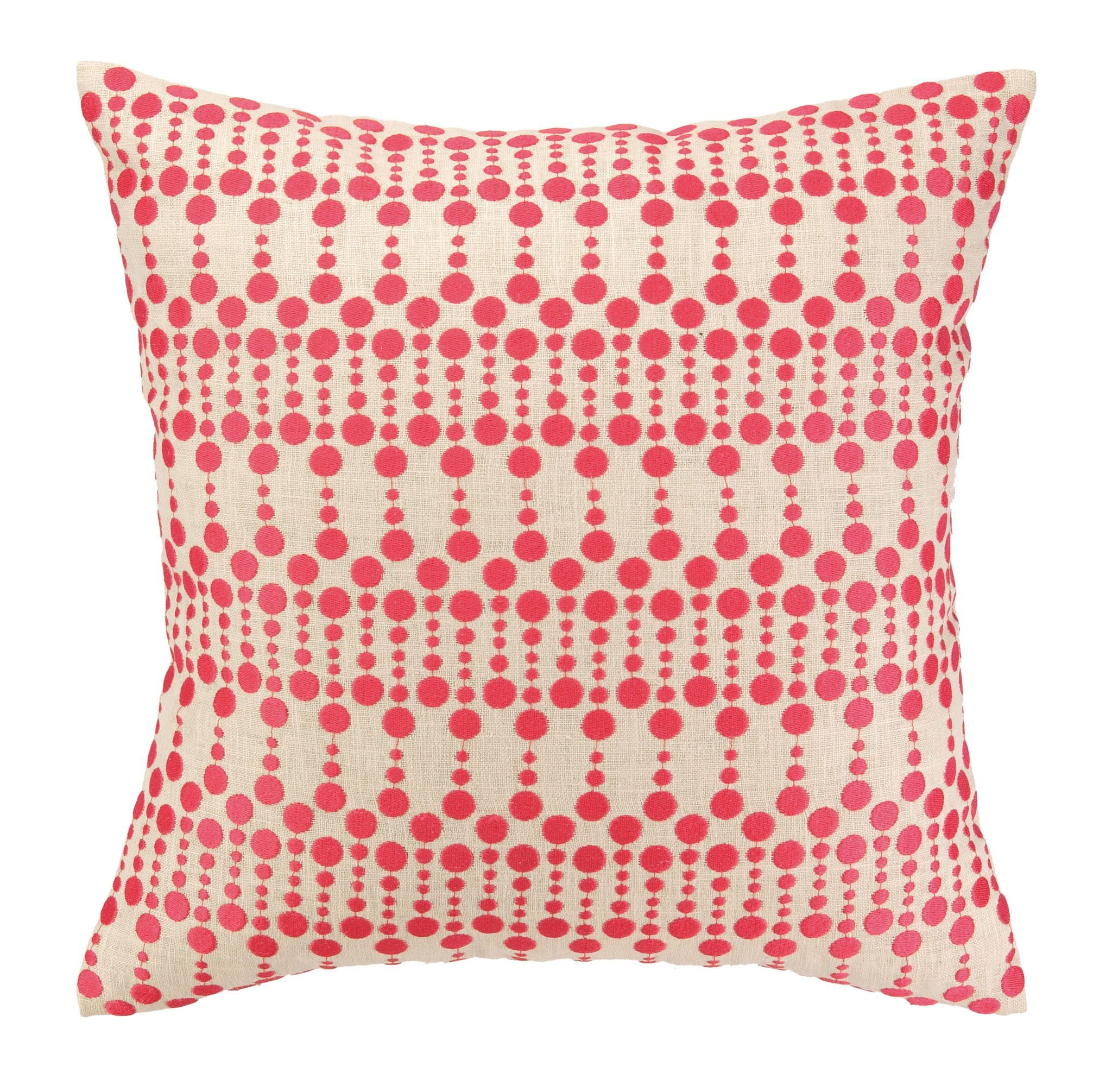 Dottie Delight Pink Pillow