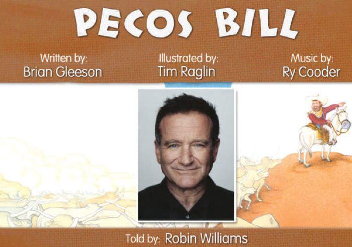 Robin reading Pecos Bill!