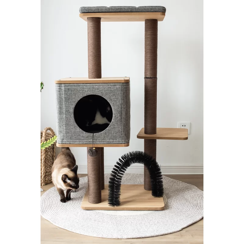 "41"" Ostrom Cubic Cat Tree in 2020 Cat tree, Cat"