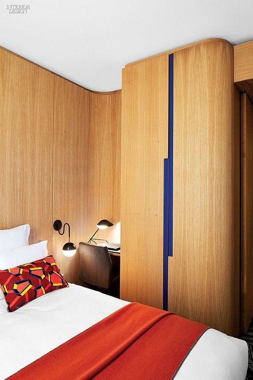 Hotel Cabinet and wall wrap wood grain vinyl .Click on the image to learn more.
