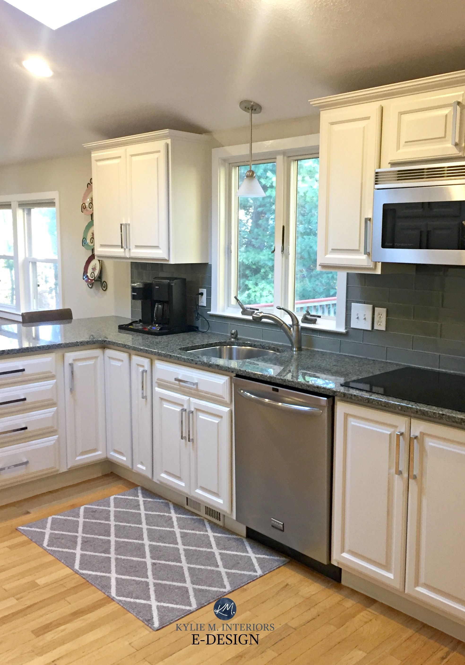 Should I Paint My Oak Cabinets Or Keep Them Stained A Questionnaire Maple Kitchen Cabinets Grey Kitchen Walls Maple Kitchen